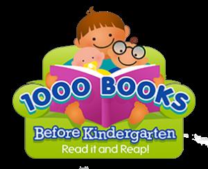 1000 books before kindergarten