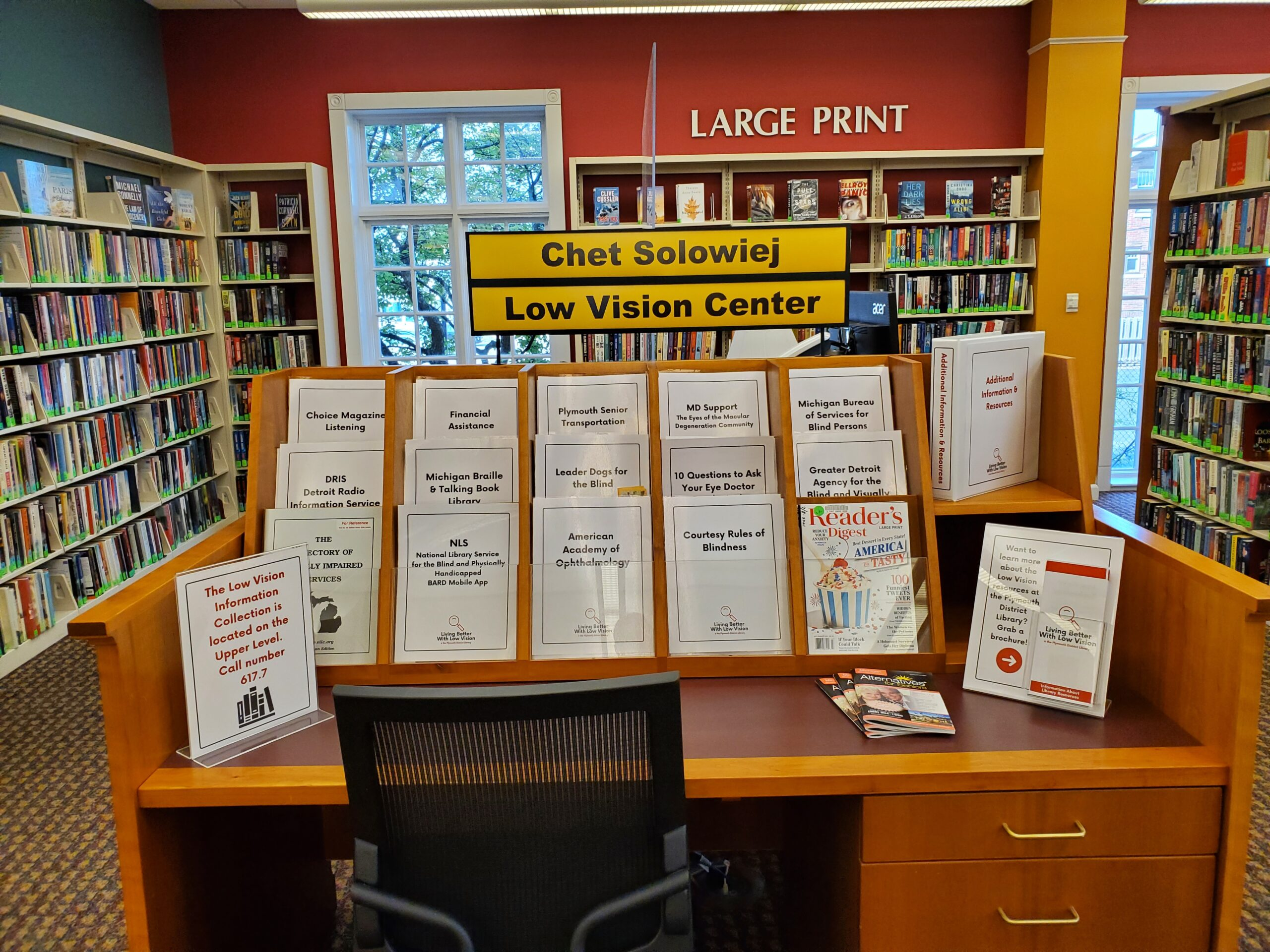 photo of our low vision center