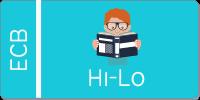 hi-lo book button