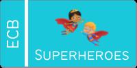 superheroes button