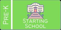 starting school button