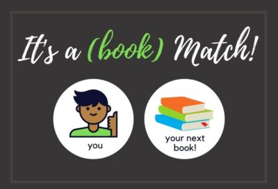 Teen Book Match Button