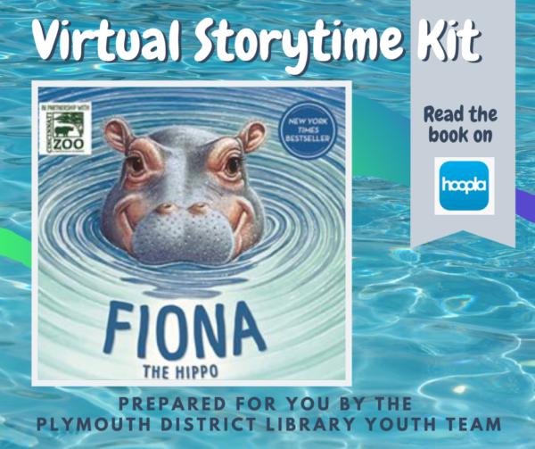 Virtual Storytime Kit book: Fiona