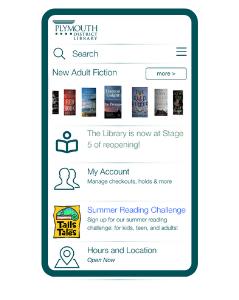 PDL app screen shot