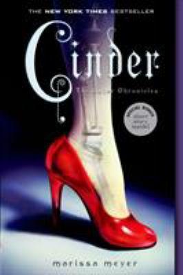 Book cover: Cinder by Marissa Meyer