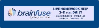 Brainfuse tutoring live