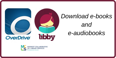 download ebooks and eaudiobooks from Overdrive