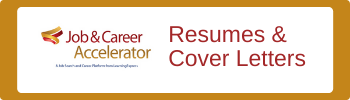 Job and Career: Resumes and Cover Letters