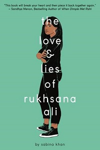 love and lies of rukhsana ali book cover