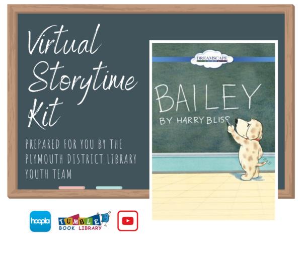 Virtual Storytime book: Bailey